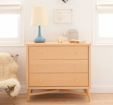 Mid-Century Dresser in Natural