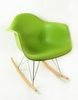 Mid Century Rocking Chair in Green