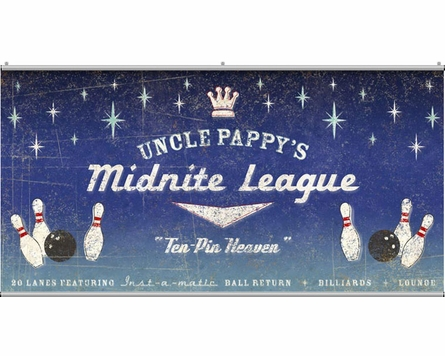Midnite League Personalized Minute Wall Mural