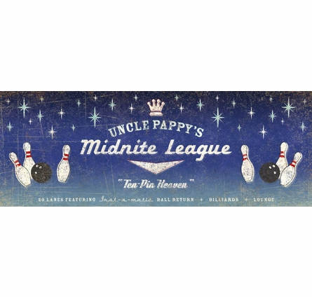 Midnite League Personalized Wall Mural