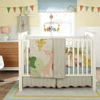 MiGi Circus 3-Piece Crib Bedding Set