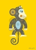 Mild Monkey Canvas Wall Art