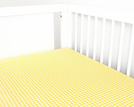 Miller 2-Piece Crib Bedding Set with Patterned Skirt