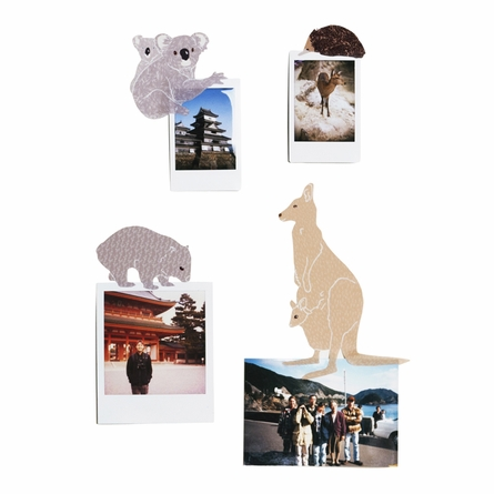 Mini Australiana Fabric Wall Decals