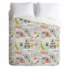 Mini Camper Lightweight Duvet Cover