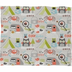 Mini Camper Fleece Throw Blanket