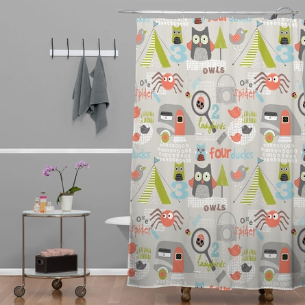 Mini Camper Shower Curtain