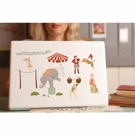 Mini Circus Fabric Wall Decals