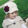 Mini Diva Hat in Cream