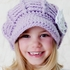 Mini Diva Hat in Light Purple