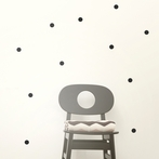 Mini Dots Wall Stickers - Black