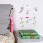 Mini Fairy Garden Fabric Wall Decals