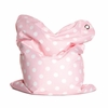 Mini Fashion Bull Bebe Pink Bean Bag Chair