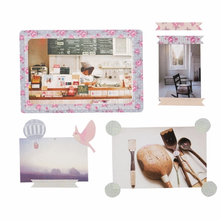 Mini Photo Dots Fabric Wall Decals