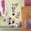 Minnie Fashionista Wall Decals with Gems