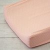 Mint & Coral Chevron Changing Pad Cover