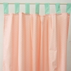 On Sale Mint & Coral Chevron Window Panels