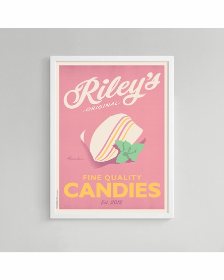 Mint Custom Framed Art Print