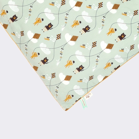 Mint Kite Kids Twin Duvet Set