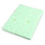 Mint Triangle Crib Sheet