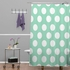 Mintiest Polka Dots Shower Curtain