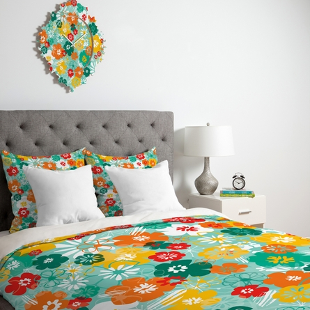 Minty Fresh Lightweight Duvet Cover