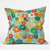 Minty Fresh Throw Pillow