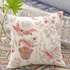 Mirabelle Embroidered Square Decorative Pillow