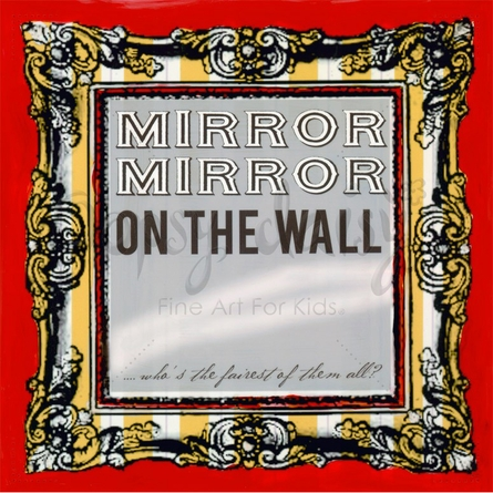 Mirror Mirror On The Wall Canvas Wall Art