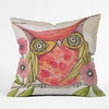 Miss Goldie Throw Pillow