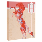 Miss Horse Wrapped Canvas Art