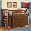 Mission Twin Loft with Storage Options in Cherry