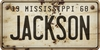 Mississippi Custom License Plate Art