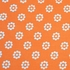 Mod-Dots Crib Sheet in Orange