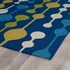 Mod Dots Indoor/Outdoor Rug in Blue