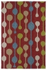 Mod Dots Indoor/Outdoor Rug in Red