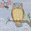 Mod Owl I Canvas Wall Art