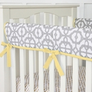 Mod Yellow Crib Rail Cover