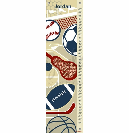Modern Athlete Growth Chart
