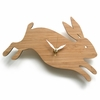 Modern Baby Rabbit Wall Clock