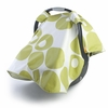 On Sale Modern Berries Car Seat Canopy in Spring Green