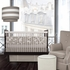 Modern Berries Crib Bumper in Taupe