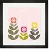 Modern Blooms Framed Art Print