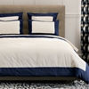 Modern Border Duvet Cover in Admiral