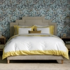 Modern Border Duvet Set in Citrine