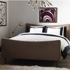 Modern Border Duvet Cover in Ink