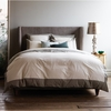 Modern Border Duvet Cover in Smoke