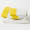 Modern Border Sheet Set in Citrine