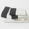Modern Border Sheet Set in Ink