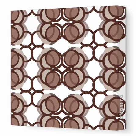 Modern Circles Canvas Wall Art